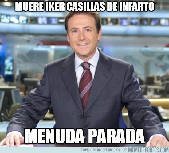 71446 - Muere Iker Casillas de infarto