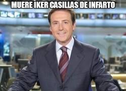 Enlace a Muere Iker Casillas de infarto