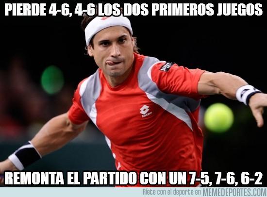 71495 - Pierde 4-6, 4-6 los dos primeros juegos