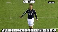 Enlace a Cristiano, ¿cuántos balones de oro tendrá Messi en 2014?