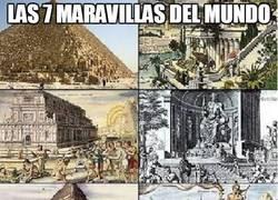 Enlace a Las 7 maravillas del mundo