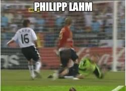 Enlace a Philipp Lahm, un espectador de lujo
