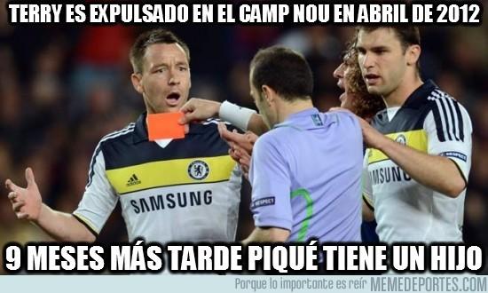 71918 - Terry es expulsado en el Camp Nou en abril de 2012
