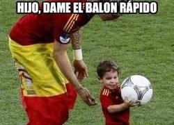 Enlace a Hijo, dame el balon rápido