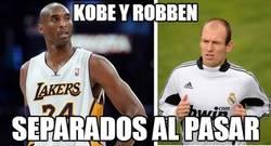 Enlace a Kobe y Robben