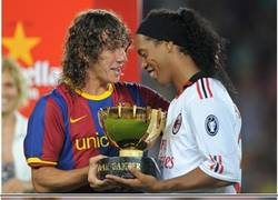 Enlace a Ronaldinho, imposible no quererlo
