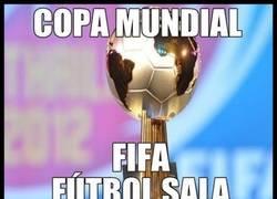 Enlace a Brasil y España en fútbol sala