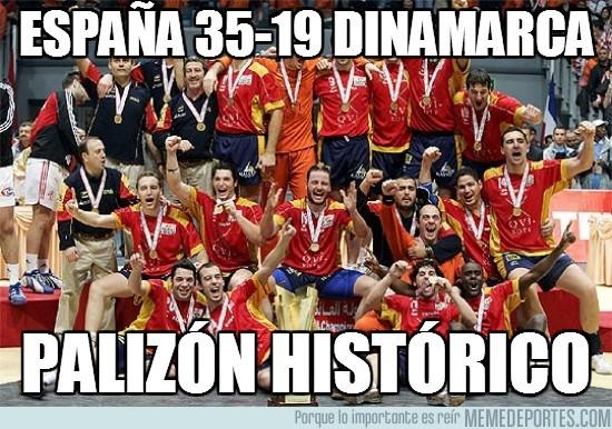 74283 - España 35-19 Dinamarca