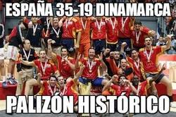 Enlace a España 35-19 Dinamarca