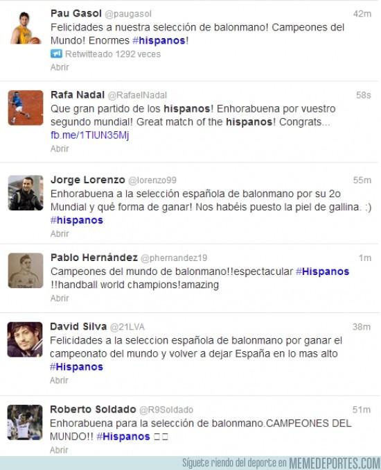 74378 - Felicidades a los #hispanos ¡Campeones del Mundo!