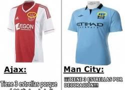 Enlace a Las estrellas del Manchester City