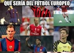 Enlace a Qué sería del fútbol europeo