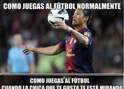 Enlace a A veces juegas como Alexis, otras como Messi