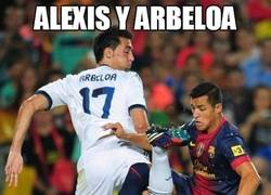 Enlace a Alexis y Arbeloa