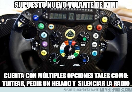 75775 - Supuesto nuevo volante de Kimi