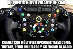 Enlace a Supuesto nuevo volante de Kimi