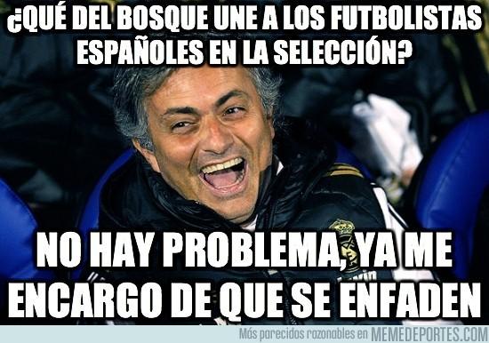 75892 - ¿Qué del Bosque une a los futbolistas españoles en la selección?