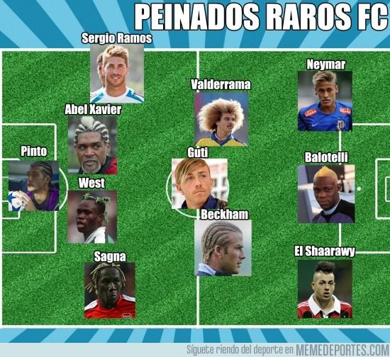 76205 - Peinados Raros FC