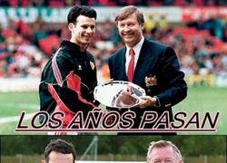 Enlace a Ryan Giggs y Alex Ferguson, amigos para siempre