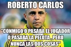 Enlace a Roberto Carlos, un defensa como ya no quedan