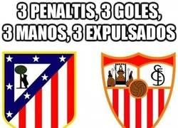 Enlace a 3 penaltis, 3 goles, 3 manos, 3 expulsados