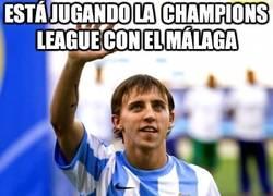 Enlace a Juega la Champions League con el Málaga