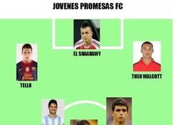 Enlace a Jóvenes promesas Fútbol Club
