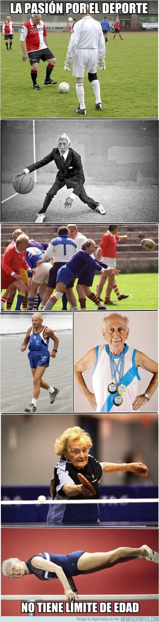 78657 - Para el deporte, no hay límite de edad