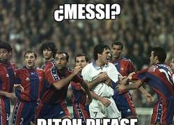 Enlace a ¿Messi?
