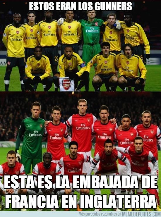 79532 - El Arsenal antes/ahora