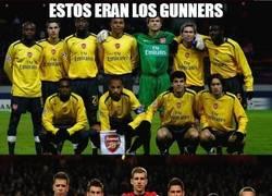 Enlace a El Arsenal antes/ahora