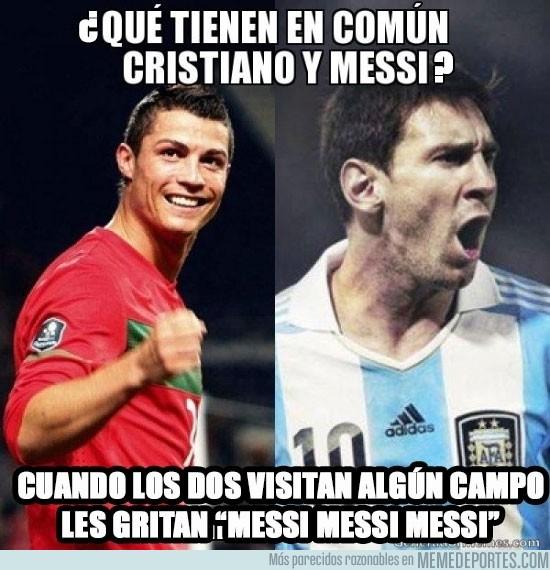 79579 - ¿Qué tienen en común CR7 y Messi?