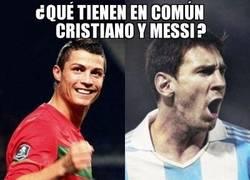 Enlace a ¿Qué tienen en común CR7 y Messi?