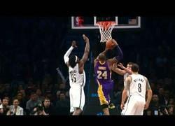 Enlace a VÍDEO: Brutal mate de Kobe vs Brooklyn Nets