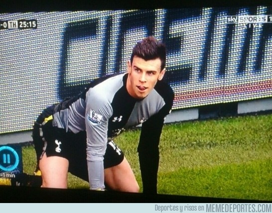 79800 - Gareth Bale está cachondo
