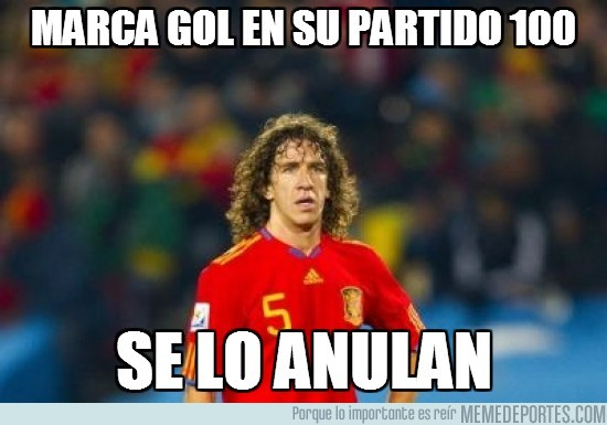 79839 - Bad luck Puyol