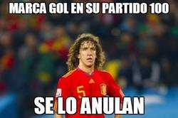 Enlace a Bad luck Puyol