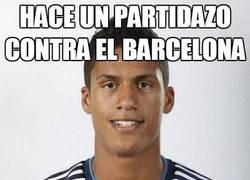 Enlace a Hace un partidazo contra el Barcelona