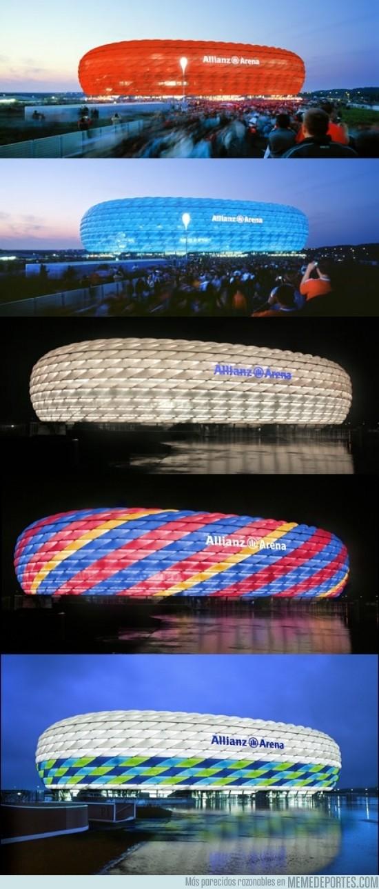 80479 - Allianz Arena, el impresionante estadio que cambia de color
