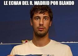 Enlace a Le echan del R. Madrid por blando