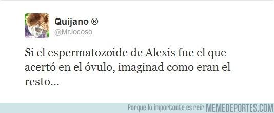 80645 - Alexis no es tan malo, por @MrJocoso