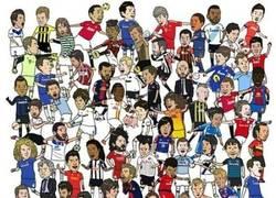 Enlace a Lluvia de futbolistas ¿a cuántos reconoces?