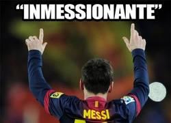 Enlace a Inmessionante, el adjetivo de Messi