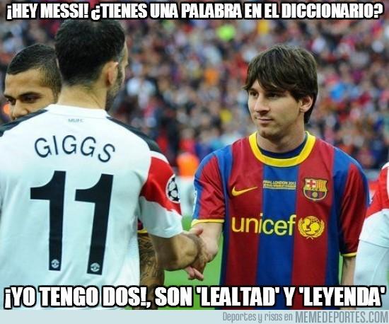 81531 - ¡Hey Messi! ¿Tienes una palabra en el diccionario?