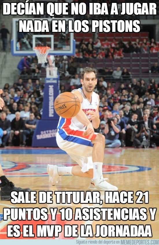 81923 - Decían que no iba a jugar nada en los Pistons