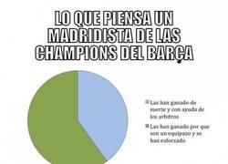 Enlace a Las Champions del Madrid y del Barça