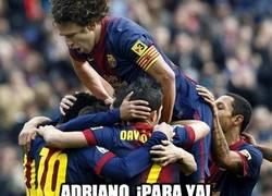 Enlace a Adriano, ¡para ya!