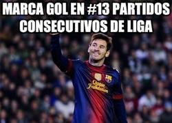 Enlace a Marca gol en #13 partidos consecutivos de liga