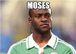 Enlace a Moses, mejor jugador de la Copa África