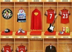 Enlace a El vestuario del Arsenal por @lagvilava7